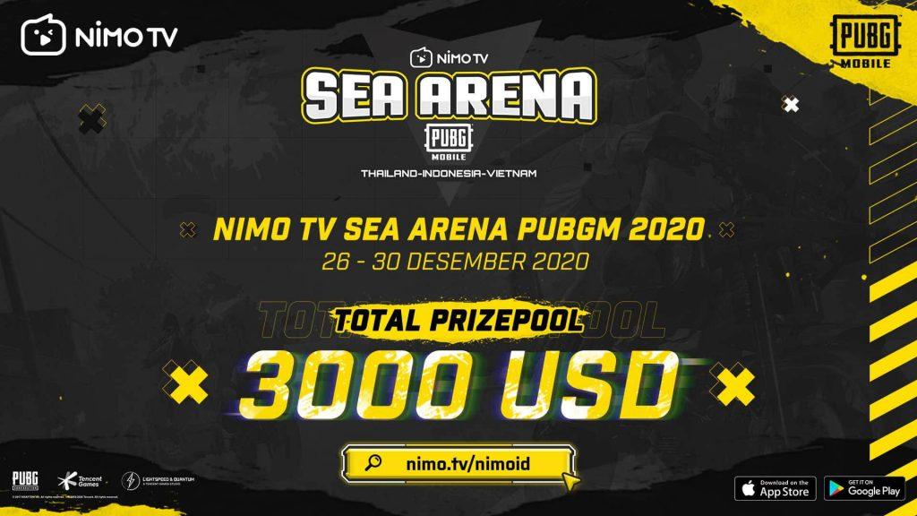 Tutup Akhir Tahun dengan Chicken Dinner! Nimo TV SEA Arena PUBGM 2020 Siap Digelar