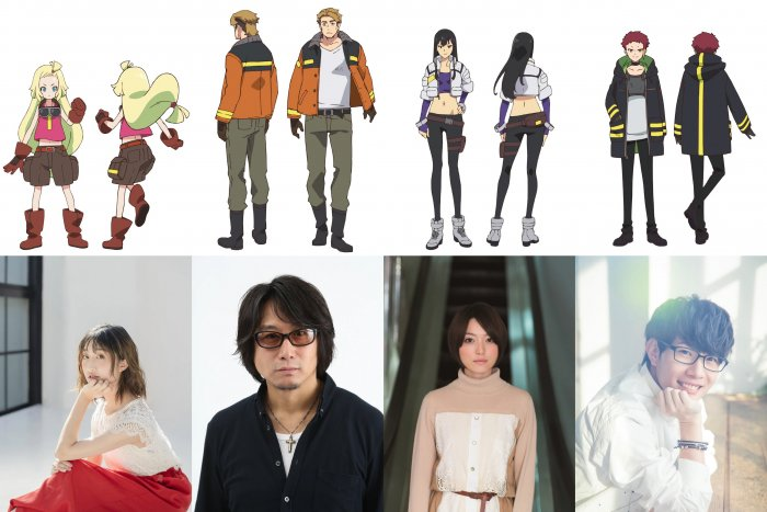 Anime Sci-fi Sacks&Guns!! Ungkap Staf Produksinya