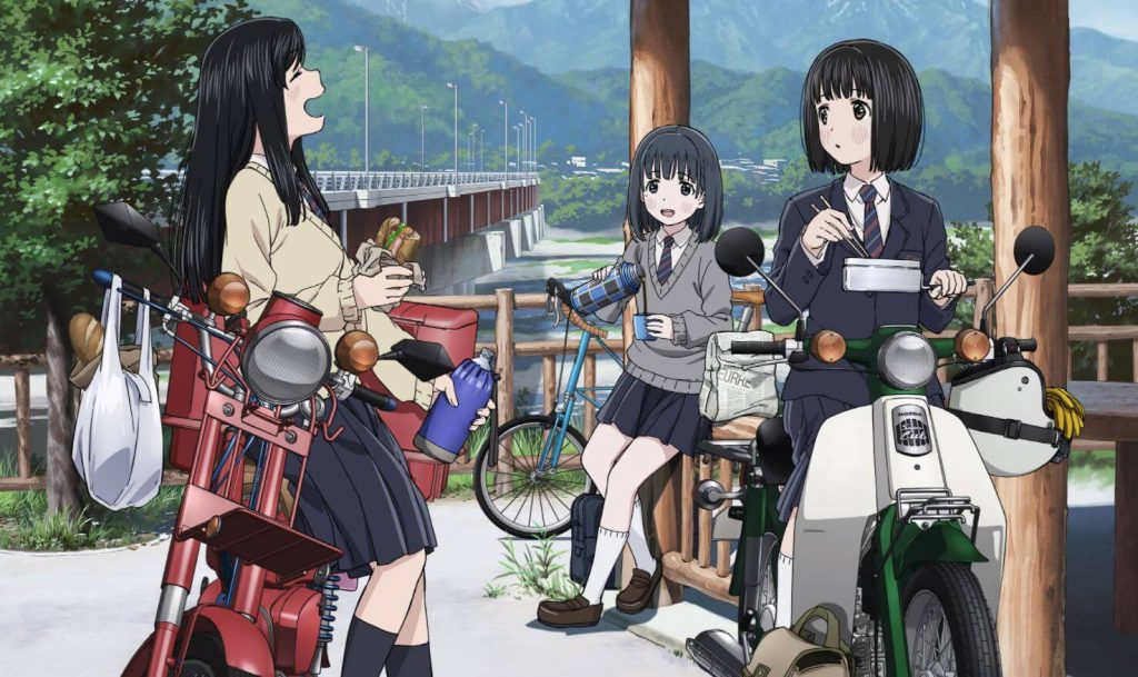 Anime Super Cub Dipastikan Mengudara pada April Mendatang