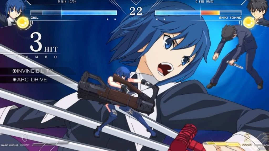 Melty Blood: Type Lumina Tayangkan Teaser Gameplay