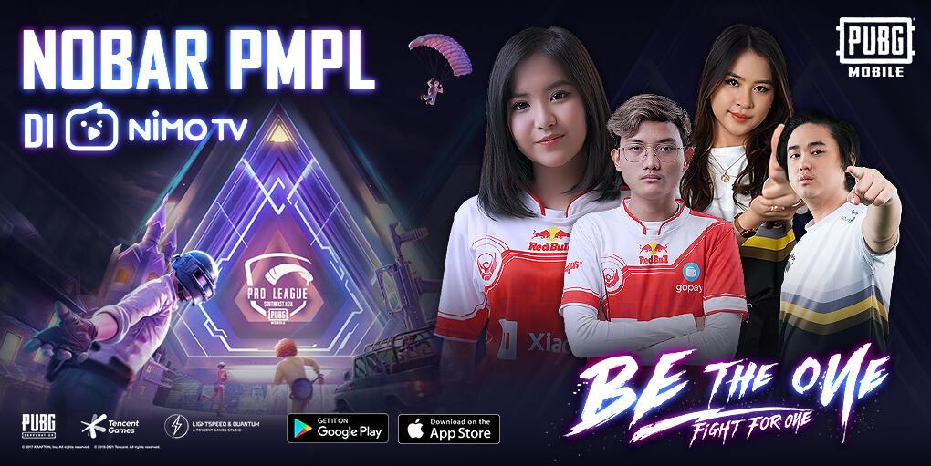 Nonton PMPL ID S3 Bareng Pro Player di Nimo TV, Bertabur Hadiah Menarik