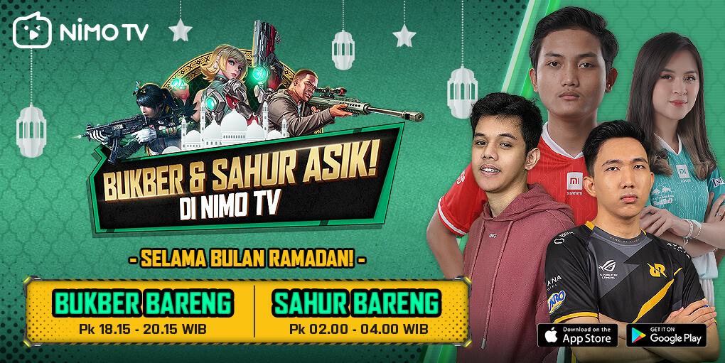 Bukber dan Sahur Asik di Nimo TV