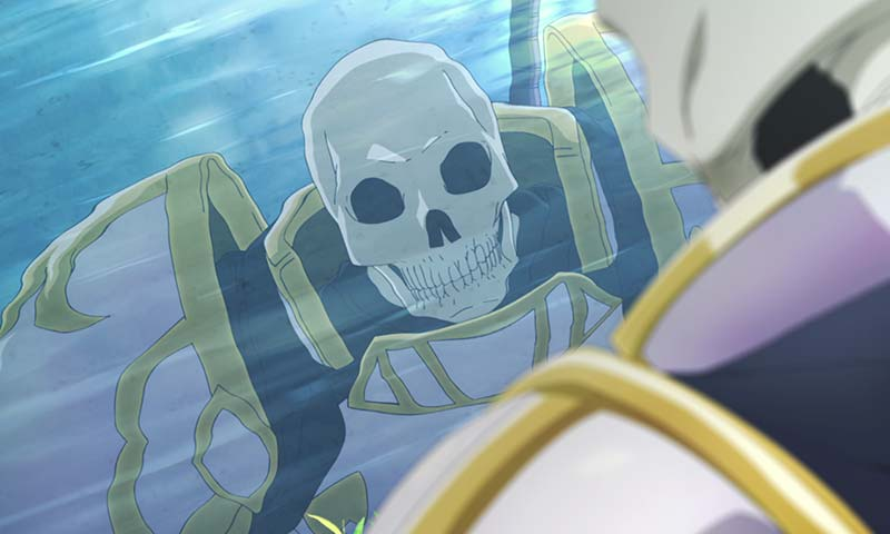 Novel Skeleton Knight in Another World Resmi Mendapatkan Adaptasi Anime