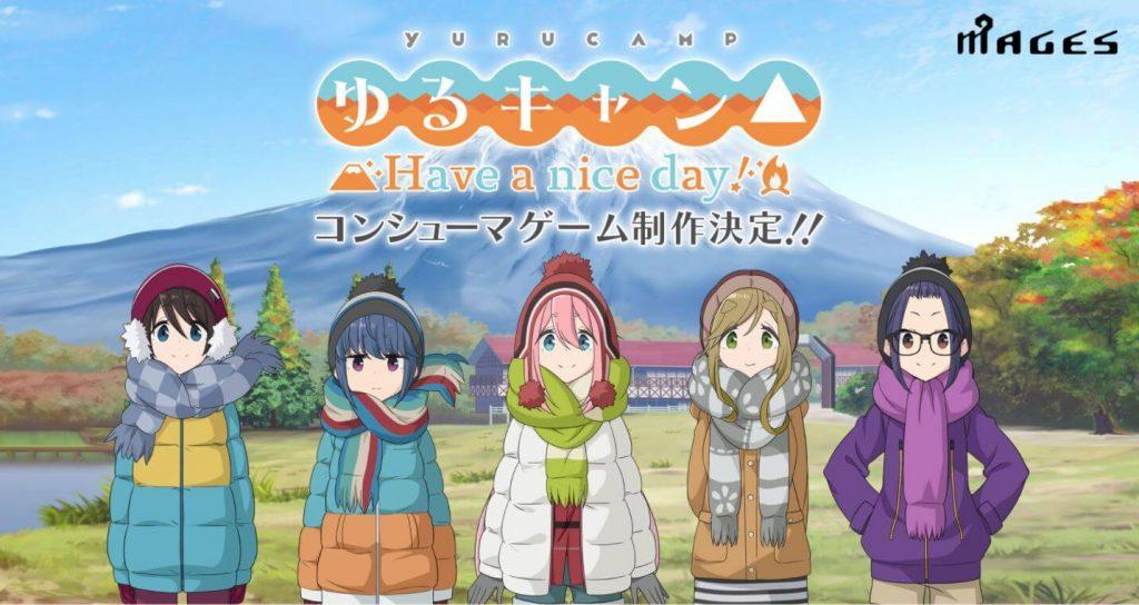 Platform Game Yuru Camp dari MAGES Resmi Diumumkan