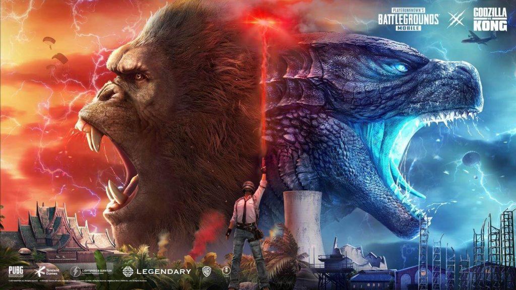 [Press Release] Godzilla vs. Kong Sudah Hadir di PUBG MOBILE Versi 1.4
