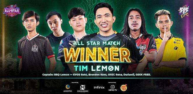 [Press Release] Pertarungan Bertabur Bintang antara Tim Lemon dan Tim Emperor