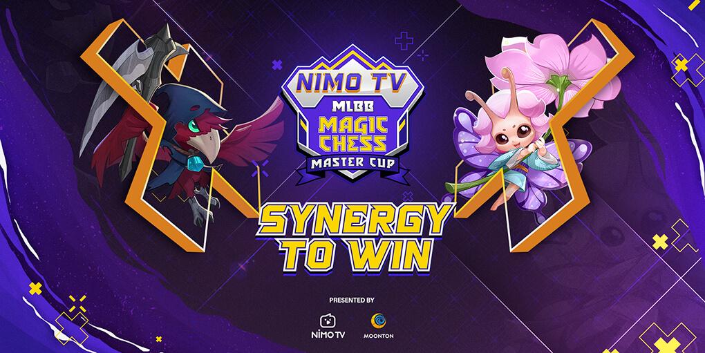 [Press Release] Saatnya Adu Sinergi! Tahap Pendaftaran NIMO TV X MLBB Magic Chess Master Cup Season 1 Telah Dibuka