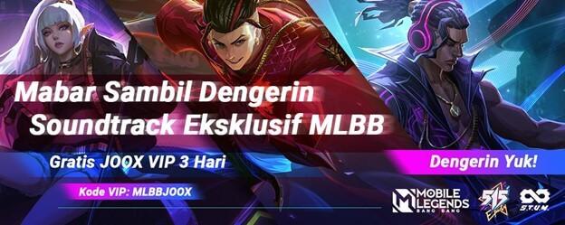 [Press Release] Meriahkan 515 eParty, JOOX Hadirkan Soundtrack dan Playlist Eksklusif untuk Pecinta Game Mobile Legends: Bang Bang