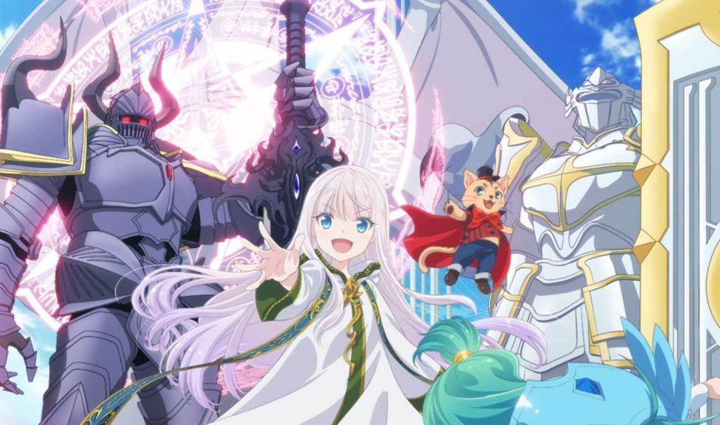 Visual Terbaru Anime Kenja no Deshi wo Nanoru Kenja Ditampilkan