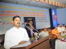 0042 Sri Prakash Malpe addressing the gathering