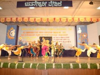 0076 Bharatanatya performance by students of Alva College