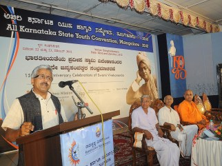 0110 Dr R Balasubrahmanyam motivating the youths