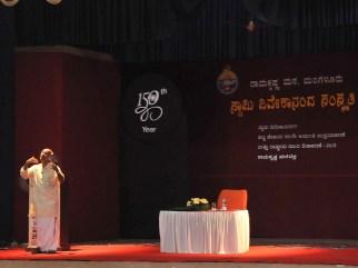 077 Dr Shikaripura Krishnamurthy Addressing the teachers