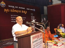 164 Prof Raghottam Rao addressing the Youth