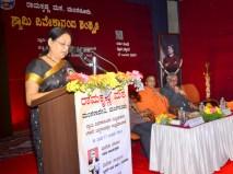 183 Smt Philomena Lobo, JD, Education Dept, Mangalore addressing the Teachers