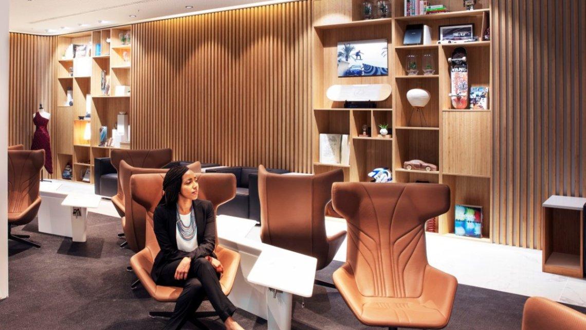 Salonek Lexus na letišti v Bruselu opět zvolen nejlepším v Evropě