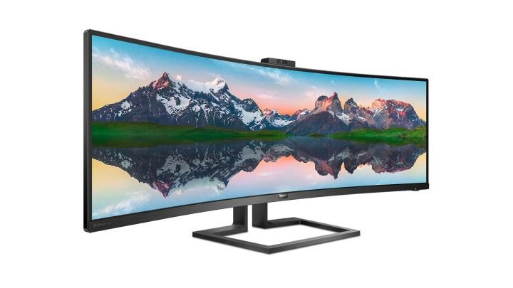 Philips 439P9H je ultraširoký 49″ monitor s rozlišením 3840 x 1200 ve formátu 32:10