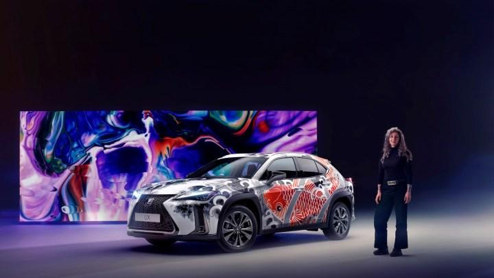 Lexus představil celosvětově první vůz s tetováním