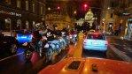 Motorkáři projeli v rámci Prague NIGHT RIDE 2020 noční Prahou. Policie byla u toho