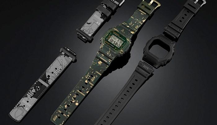Casio představuje hodinky G-SHOCK s vyměnitelným ciferníkem a páskem