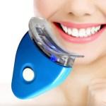 Až o 8 odstínů světlejší zuby se vám postará speciální bělicí LED lampa!