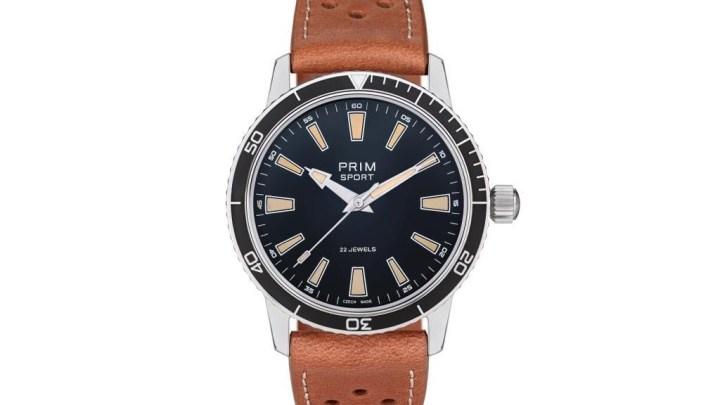 Limitovaná edice PRIM SPORT L.E.: Legendární hodinky, ve kterých Venclovský překonal La Manche
