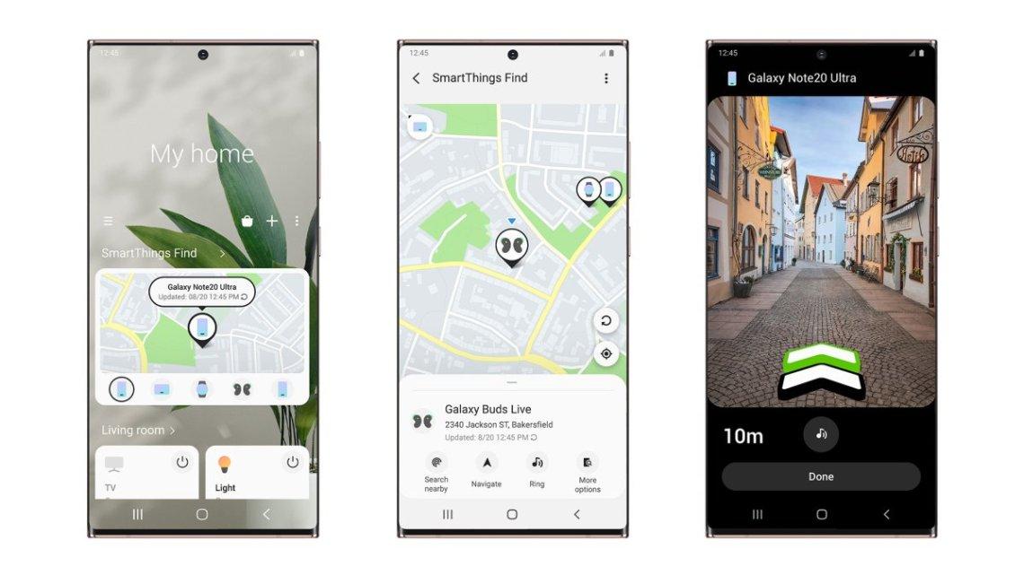 Samsung představuje službu SmartThings Find, nový způsob rychlé a jednoduché lokalizace přístroje Galaxy