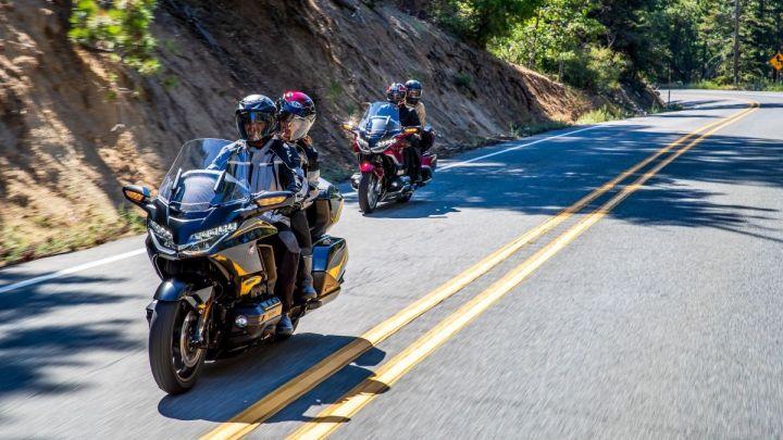 """Představují se modernizované motocykly Honda GL1800 Gold Wing a Gold Wing """"Tour"""" pro rok 2021"""
