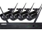 Bezpečnostní kamerový systém EVOLVEO DETECTIVE WN8 spolehlivě monitoruje vybrané objekty, sklady, budovy i rodinné domy