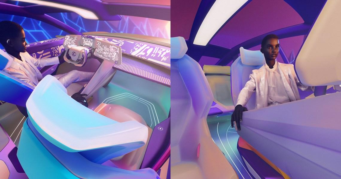 První virtuální modelka na světě představuje budoucnost značky Lexus