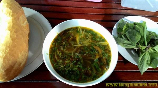 Súp lươn ở Bình Định