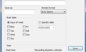 Thu hình chương trình trực tuyến dễ dàng với Web Stream Recorder 2012