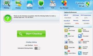 Tối ưu hóa máy tính với Toolwiz Care