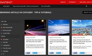 Trang web chia sẻ kinh nghiệm chụp ảnh