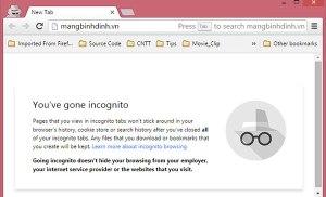 Hướng dẫn tạo shortcut để mở nhanh trình duyệt web chế độ ẩn danh