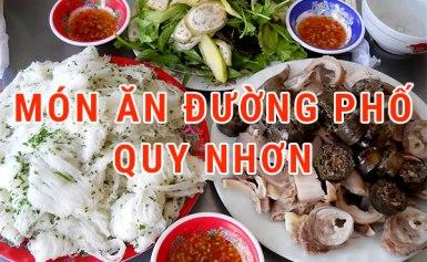 Một số món ăn đường phố ngon ở Quy Nhơn