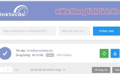 Miễn phí tải file tốc độ cao trên Fshare, 4share, TaiLieu, TenLua,…
