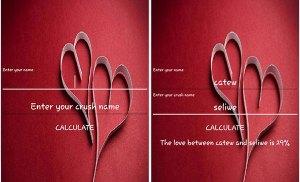 Mã nguồn ứng dụng bói tình yêu trên Android