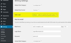 Mang nút lệnh canh đều 2 biên trở lại trên thanh công cụ soạn thảo của WordPress