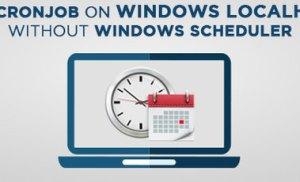 Chạy cronjob trên XAMPP trên Windows