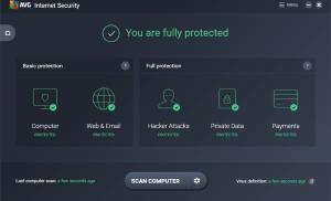 6 tháng dùng miễn phí trình diệt virus AVG Internet Security 2017