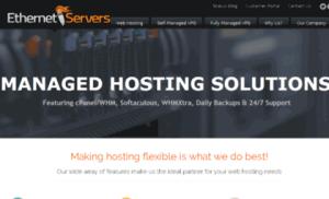 Ethernet Servers khuyến mãi: SSD Hosting chỉ có $5/năm và Linux VPS chỉ có $3.16/tháng