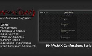 Mã nguồn trang Confessions bằng PHP