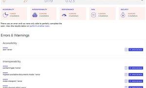 Kiểm tra hiệu năng và bảo mật của trang web với công cụ trực tuyến mới từ Microsoft – Sonar