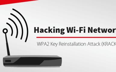 Mô tả cách thức tấn công mạng wifi bằng kỹ thuật KRACK