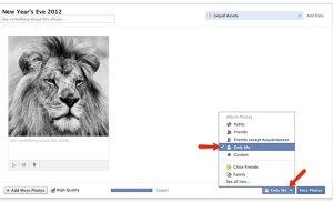 Xử lý hình không thích trên Facebook