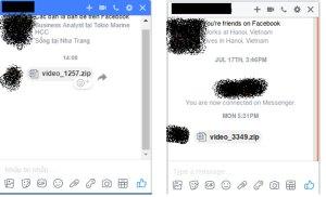 Phân tích kỹ thuật mã độc phát tán qua Facebook Messenger