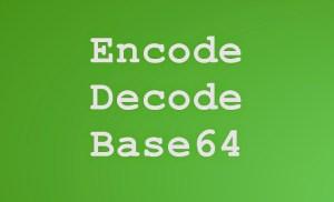 Mã hóa và giải mã chuẩn Base64 với JavaScript