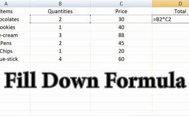 Copy cả công thức trong Excel