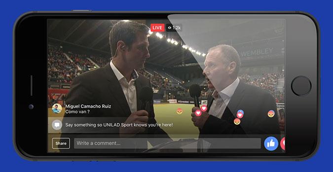 Ẩn hiện thông tin trên màn hình Live Stream của Facebook